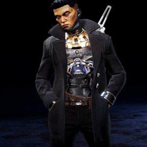 Apex Legends Crypto The Hired Gun Black Coat