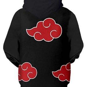 Naruto Akatsuki Black Hoodie