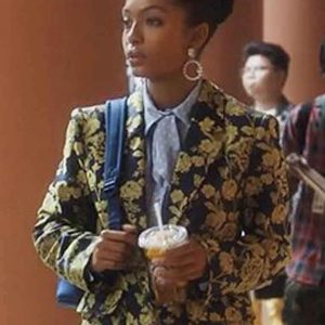 Grown-ish Zoey Johnson Flower Blazer