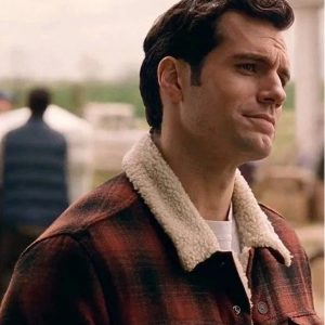 Henry Cavill Justice League Clark Kent Sher­pa Jacket