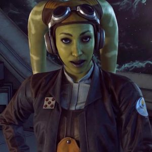 Hera Syndulla Star Wars Squadrons Leather Jacket