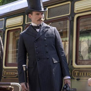 Enola Holmes Mycroft Holmes Black Coat