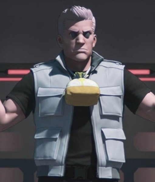 Ghost in The Shell Sac 2045 Batou Grey Vest