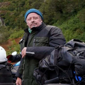Long Way Up Charley Boorman Leather Jacket