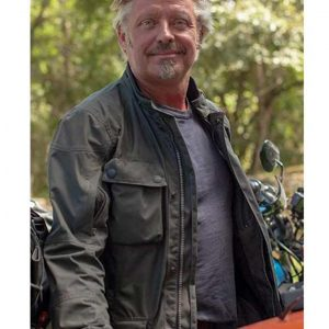 Long Way Up Charley Boorman Cotton Jacket