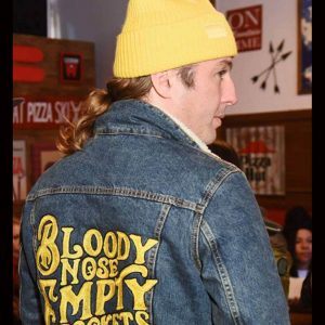 Bloody Nose Empty Pockets Denim Jacket