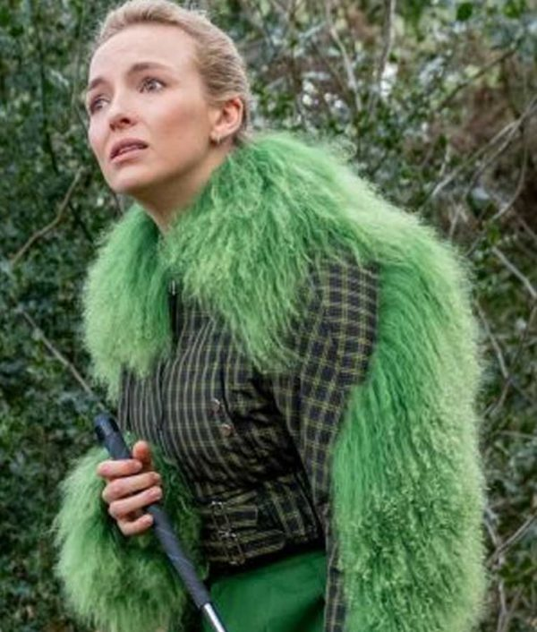 Killing Eve S03 Jodie Comer Cropped Jacket