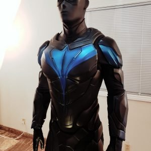 Dick Grayson Titans Nightwing Leather Jacket