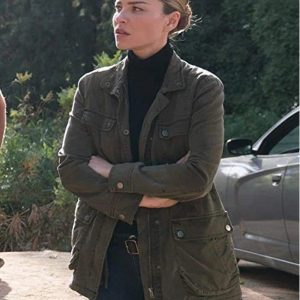 Lucifer Lauren German Military Green Jacket