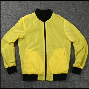 Cyberpunk 2077 Yellow Bomber Jacket
