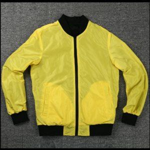 Cyberpunk 2077 Yellow Bomber Jacket