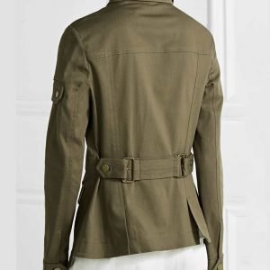 Melania Trump Military Green Jacket