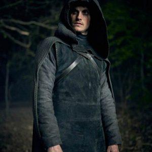 Cursed Daniel Sharman Hooded Coat