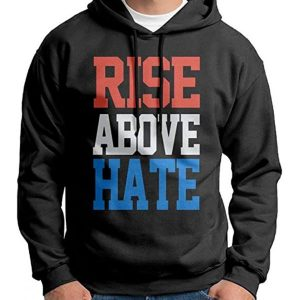 Rise Above Hate Pullover Hoodie