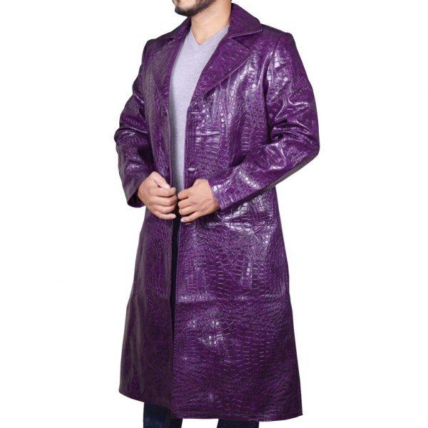 Suicide Squad Jared Leto Crocodile Coat