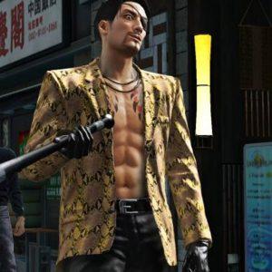 Yakuza Like A Dragon Goro Majima Snakeskin Jacket