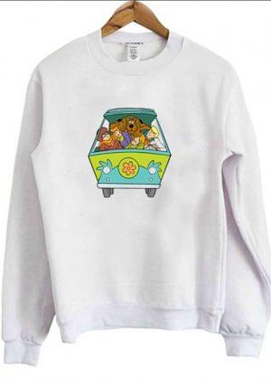 Scooby-Doo The Mystery Machine Sweatshirt