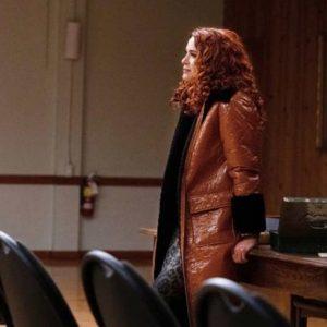 Supernatural Season 15 Anael Shearling Coat