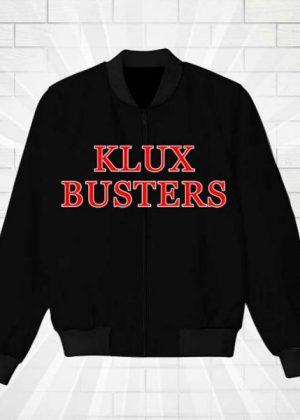 Klux Buster Black Bomber Jacket