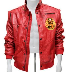 Karate Kid Cobra Kai Red Jacket