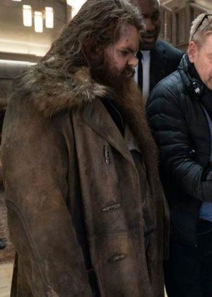 Artemis Fowl Mulch Diggums Leather Coat