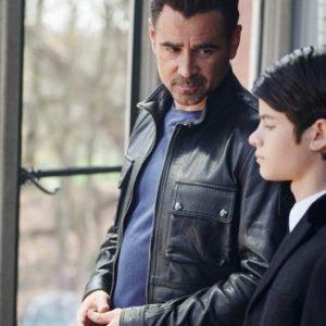 Colin Farrell Artemis Fowl I Leather Jacket