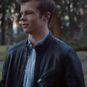 Chris Endless Black Leather Jacket