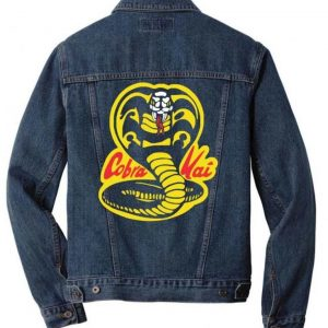 Cobra Kai Logo Denim Jacket