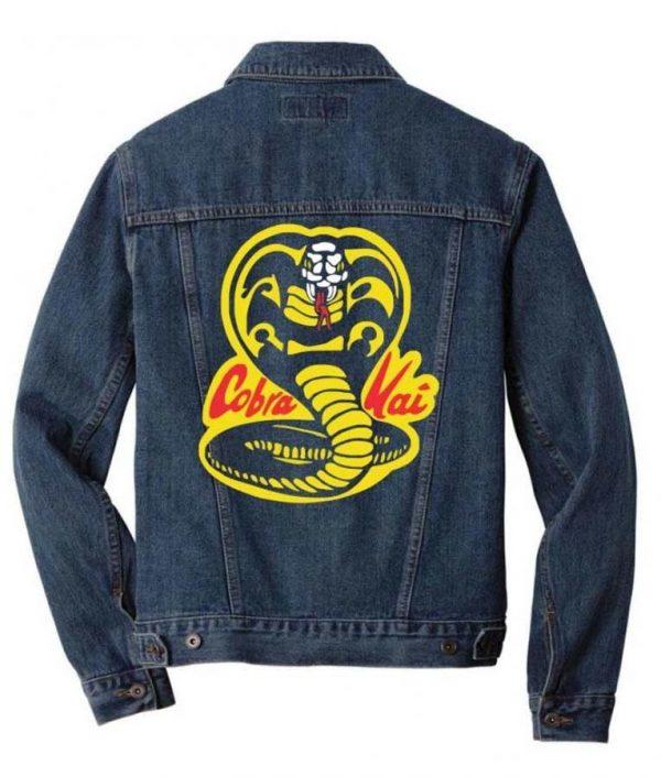 Cobra Kai Logo Denim Jacket