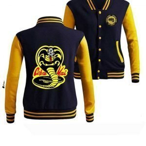 Cobra Kai Karate Kid Letterman Jacket