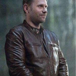 Mark Pellegrino Supernatural TV Series Lucifer Leather Jacket