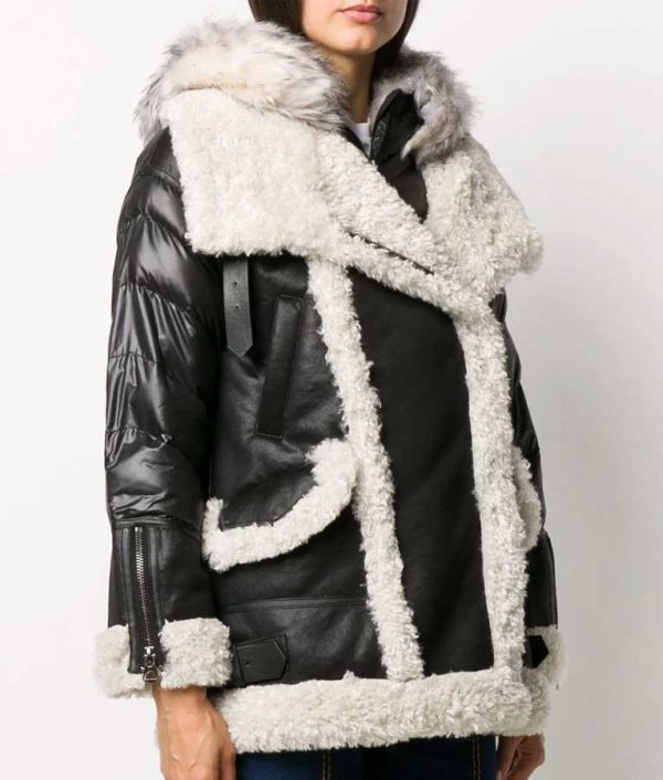 Samantha Fur Shearling Padded Jacket