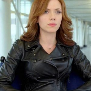 Scarlett Johansson Captain America Civil War Jacket