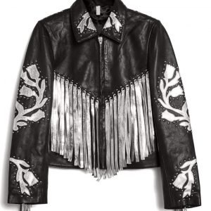 Birds of Prey Harley Quinn Fringe Jacket