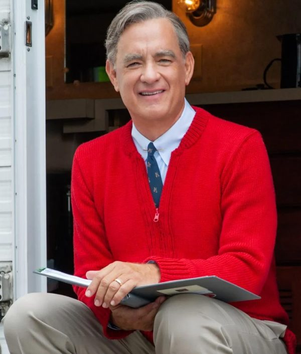 Fred Rogers A Beautiful Day in the Neighborhood Tom Hanks Sweater