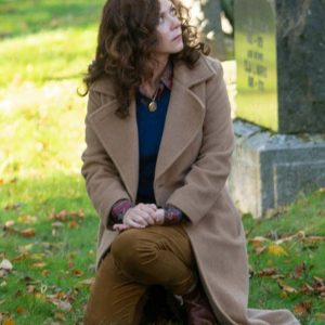 Anna Friel Books of Blood Trench Coat | Womens Long Coat