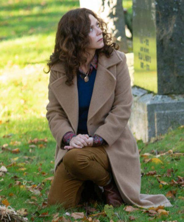 Anna Friel Books of Blood Trench Coat | Womens Long Coat