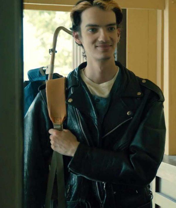 Chris Keller Interrogation Kodi Smit-McPhee Leather Jacket