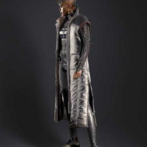 Cyberpunk 2077 Brigitte Trench Sleeveless Coat