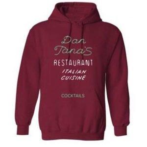Dan Tana Restaurant Cocktails Hoodie Sweatshirt