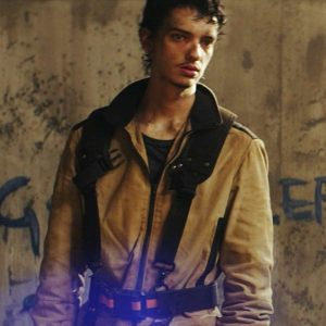 Ethan Whyte 2067 Kodi Smit-McPhee Brown Cotton Jacket