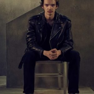 Chris Keller Interrogation Leather Jacket