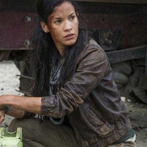 Fear The Walking Dead S04 Danay Garcia Leather Jacket