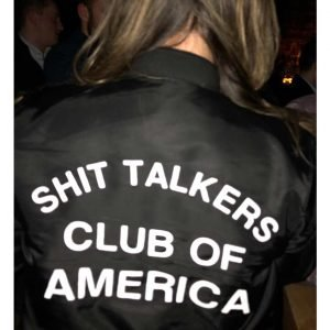 Shit Talkers Club Bomber Jacket