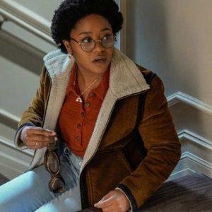 Stargirl Beth Chapel Suede Leather Jacket