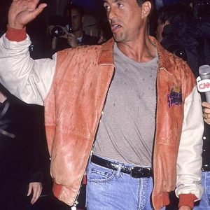 Sylvester Stallone Planet Hollywood Leather Jacket