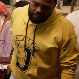Anthony Anderson Black-ish Yellow Hoodie