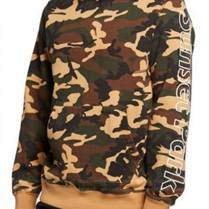 Andre 'Dre' Johnson Black-ish Camo Pullover Hoodie
