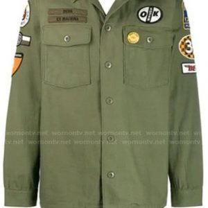Anthony Anderson TV Series Black-ish Green Military Cotton Jacket