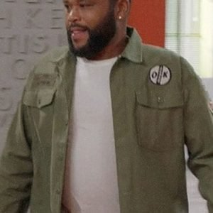 Anthony Anderson Black-ish Military Green Jacket